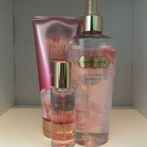 Victoria Secret Sheer Love Fragrance